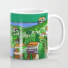 Agios Stefanos, Corfu, Greece - Greek Art Coffee Mug