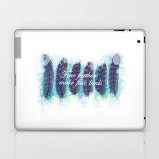 Fine Feathers Laptop & iPad Skin