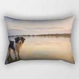 soul reflection Rectangular Pillow