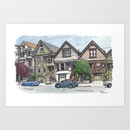 18th St, San Francisco Art Print