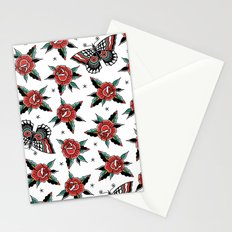Butterfly Classic Tattoo Flash Stationery Cards