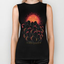 Cactus Sunset Biker Tank