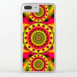 Psychedelic Visions G144 Clear iPhone Case