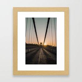 SunSet at Bristol Framed Art Print