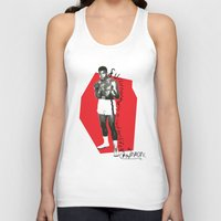 ali Tank Tops featuring Ali by Dayle Kornely