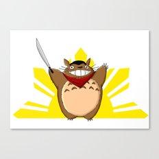 Totoro Bonifacio Canvas Print