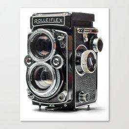 Vintage Rolleiflex Canvas Print