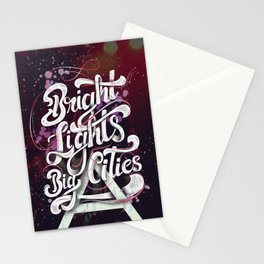 Bright Lights | 30 Seconds To Mars Stationery Cards