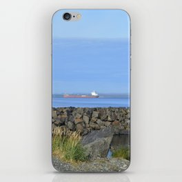 ore boat iPhone Skin