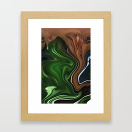 Distorted Viewpoint Framed Art Print