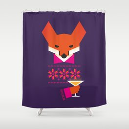 Fox (Raposu) Shower Curtain