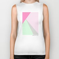 pastel Biker Tanks featuring Pastel by maybe you like