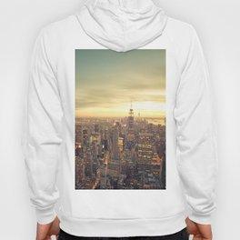 New York Skyline Cityscape Hoody
