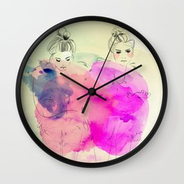 Brr its cold outside Wall Clock