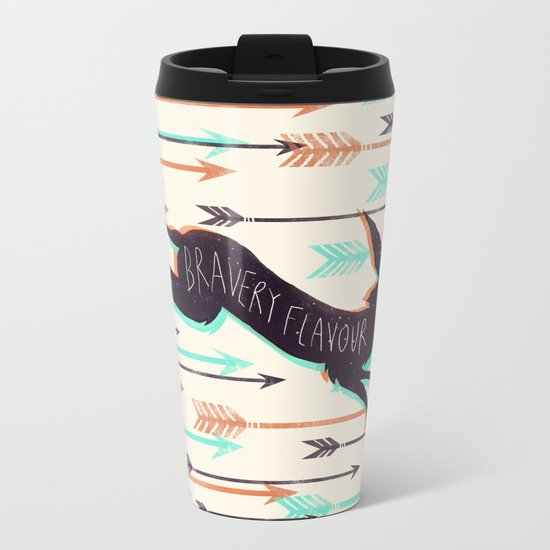 Bravery Flavour  Metal Travel Mug