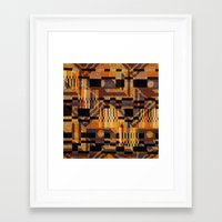 art deco Framed Art Prints featuring art deco by clemm