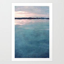december sun Art Print
