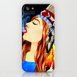 Exhale iPhone Case