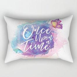 One upon a time Rectangular Pillow