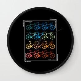 Cycling Road Bike Bicycle Bike Tour Wall Clock