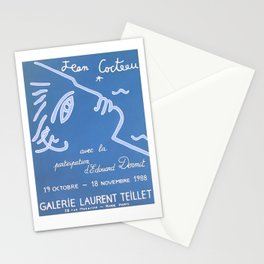 Jean Cocteau Exhibition Poster Stationery Cards