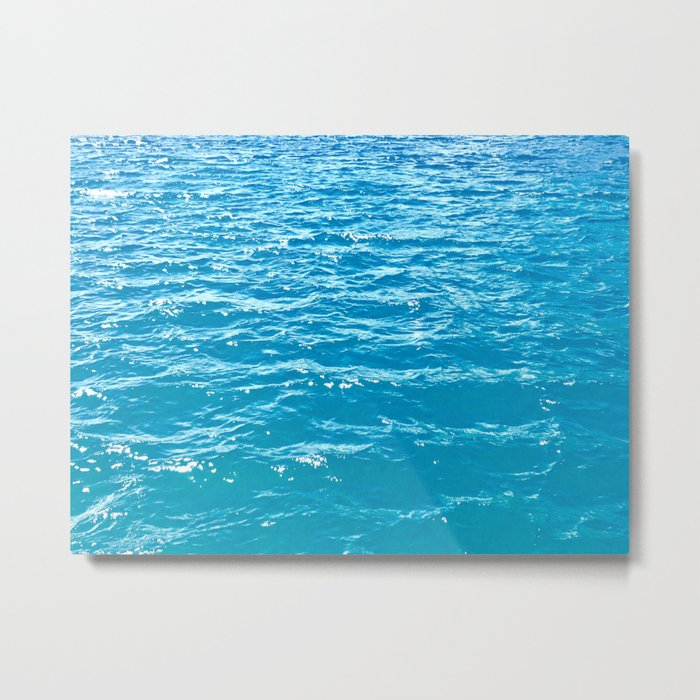 Waves for Days Metal Print