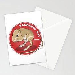 Kangaroo Rat Stationery Cards