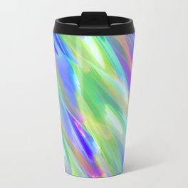 Colorful digital art splashing G401 Travel Mug