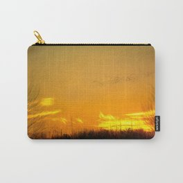 January Sunet - Lehigh Valley (Impressionist Version) Carry-All Pouch