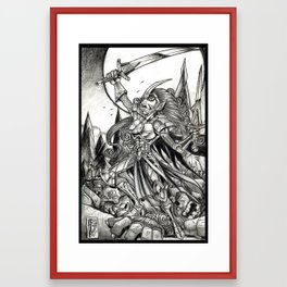 Conquest Framed Art Print