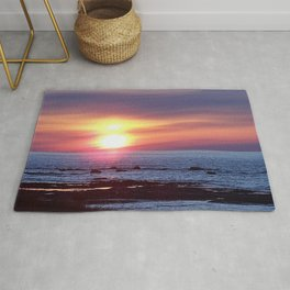 Double Sun Sunset Rug