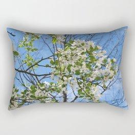 Crabapple Flowers 04 Rectangular Pillow