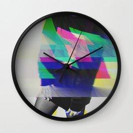 .Glitch Couture Wall Clock