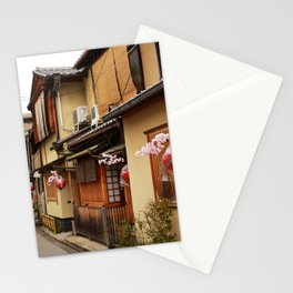 Old Houses in Kyoto Stationery Cards