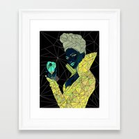 ouat Framed Art Prints featuring Regina - OUAT by aesthetic_vampy