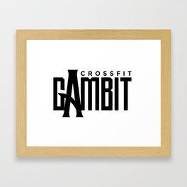 CFGambit Logo Text Framed Art Print