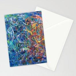Blue Sprinkles Stationery Cards