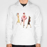 givenchy Hoodies featuring 1950's Girls by Tom Tierney Studios