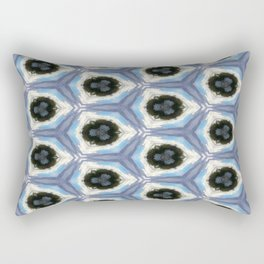 Blue Abstraction Rectangular Pillow