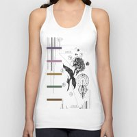 alchemy Tank Tops featuring Floral Alchemy  by Forrest Wright