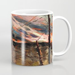 An allegory of war, Peace lost in no man's land - Digital Remastered Edition Coffee Mug