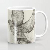 wanderlust Mugs featuring Wanderlust by Tobe Fonseca