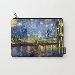 Van Gogh Comes to Cincinnati Carry-All Pouch