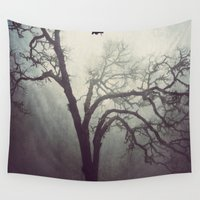 silent Wall Tapestries featuring Silent Anticipation by Lawson Images