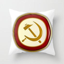 Russian Pin Throw Pillow