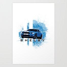 Shelby Tee Art Print