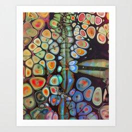 Lucid Vibes V Art Print
