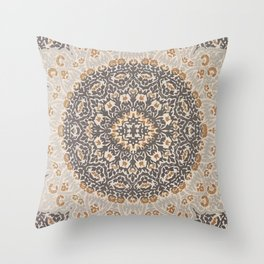 Bohemian Oriental Moroccan Mandala Style  Throw Pillow