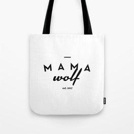 Mama Wolf Tote Bag