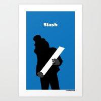 Slash (/) Art Print